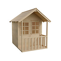 TP Apex Tongue & groove Wooden Playhouse