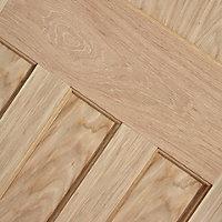 Traditional Oak veneer LH & RH Internal Door, (H)1981mm (W)686mm