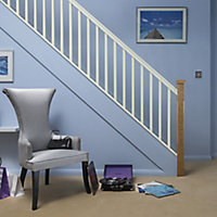 Traditional Primed Natural 32mm Handrail, (L)3.6m (W)59mm