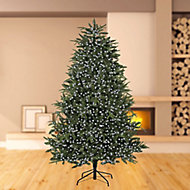 Treebrights 3000 White LED String lights Green cable