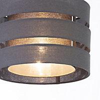 Trio Dark grey Light shade (D)280mm