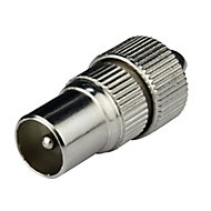 Tristar Coaxial connector, Pack of 2