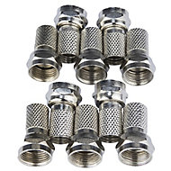 Tristar F connector, Pack of 10