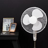 """Tristar White 16"""" 45W Floor Fan"""