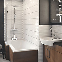 Triton Excellente Chrome effect Thermostat temperature control Mixer Shower