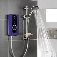 Triton Temptation Purple Electric shower, 9.5 kW