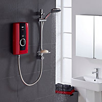 Triton Temptation Red Electric shower, 8.5 kW