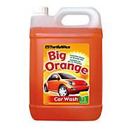 Turtle Wax Big Orange Car shampoo Bottle