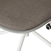 Tvissa Grey Office chair (H)820mm (W)480mm (D)560mm
