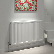 Type 22 Double Panel Radiator, White (W)1200mm (H)600mm 38.66kg