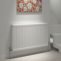 Type 22 Double Panel Radiator, White (W)800mm (H)600mm 25.8kg