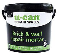 U-Can Brickwork Repair mortar, 5kg Tub