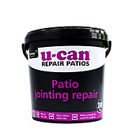 U-Can Grey Paving joint repair grout, 10kg Tub