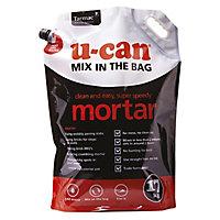 U-Can Mix in the bag Mortar, 17kg Bag