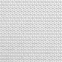 Ultimate Grey & white Polished Marble effect Natural stone Mosaic tile sheet, (L)293mm (W)253mm