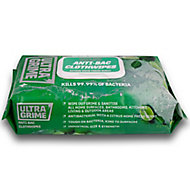 Ultragrime Life Citrus Antibacterial wipes, Pack of 1