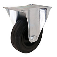 Unbraked Heavy duty Fixed Castor, (Dia)100mm (Max. Weight)75kg