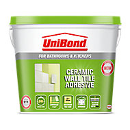 UniBond Advanced all purpose Ready mixed Beige Tile Adhesive, 14.75kg