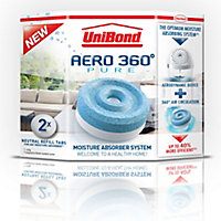 UniBond Aero 360 Moisture trap refills, Pack of 2
