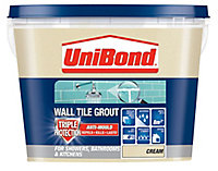 UniBond Cream Grout, 1.38kg