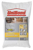UniBond Light grey Grout, 5kg