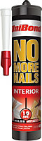 UniBond No More Nails Original Solvent free Grab adhesive 0.3L