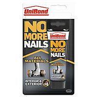UniBond No more nails Solvent-free White Grab adhesive 142ml