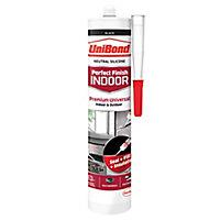 UniBond Perfect finish Black Silicone-based General-purpose Sealant, 300ml