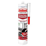 UniBond Perfect finish Translucent Silicone-based General-purpose Sealant, 300ml