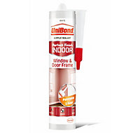 UniBond Perfect finish White Acrylic-based General-purpose Sealant, 300ml