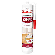 UniBond Perfect finish White Floor Sealant, 300ml
