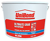 UniBond Ready mixed Beige Wall Tile Adhesive, 13.1kg