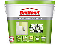 UniBond Ready mixed Beige Wall Tile Adhesive, 7.4kg