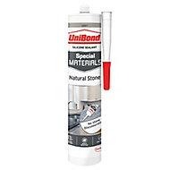 UniBond Special materials Grey Natural stone Building Sealant, 300ml