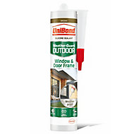 UniBond Weather-guard Brown Frame Sealant, 300ml