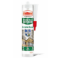 UniBond Weather-guard White Extreme repair Sealant, 300ml