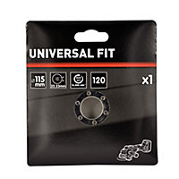 Universal Fit 120 grit Flap disc (Dia)115mm