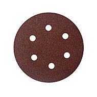 Universal Fit 40 grit Sanding sheet (L)150mm (W)150mm, Pack of 5