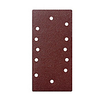 Universal Fit 80 grit 1/3 sanding sheet (L)185mm (W)93mm, Pack of 5