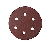 Universal Fit 80 grit Sanding sheet (L)150mm (W)150mm, Pack of 5