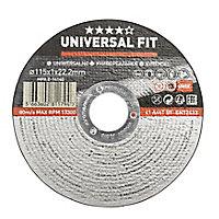 Universal Inox & metal Cutting disc (Dia)115mm