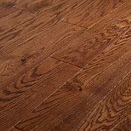 Usborne Satin Oak Real wood top layer Flooring Sample