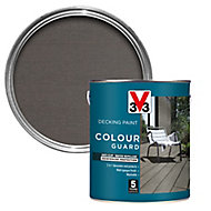 V33 Colour guard Matt dark silver Decking paint, 2.5L