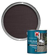V33 Colour guard Matt gun metal Decking paint, 2.5L