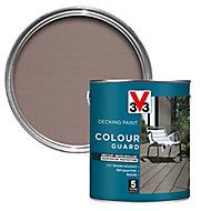 V33 Colour guard Matt light silver Decking paint, 2.5L