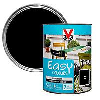 V33 Easy Black Satin Furniture paint, 1.5L