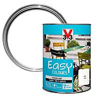 V33 Easy White Satin Furniture paint, 1.5