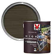 V33 High performance Grey UV resistant Decking Wood oil, 2.5L
