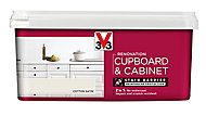 V33 Renovation Cotton Satin Cupboard & cabinet paint, 2L