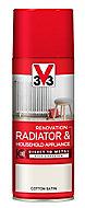 V33 Renovation Cotton Satin Radiator & appliance paint, 400ml